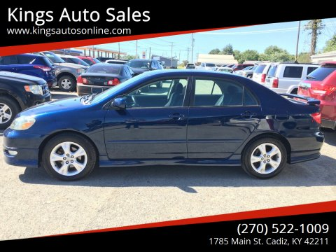 2005 Toyota Corolla for sale at Kings Auto Sales in Cadiz KY