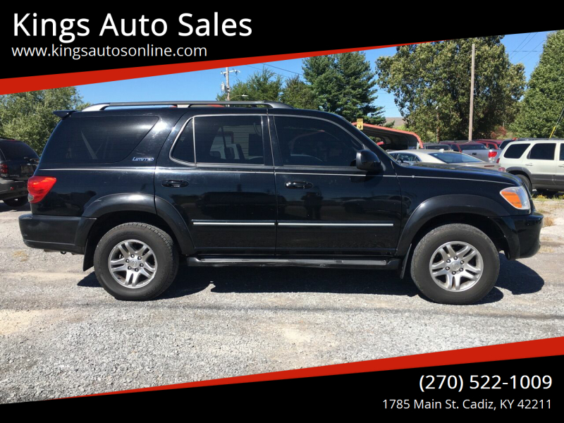 2005 Toyota Sequoia for sale at Kings Auto Sales in Cadiz KY