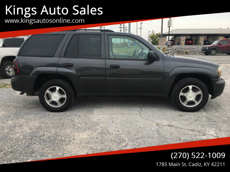 2007 Chevrolet TrailBlazer for sale at Kings Auto Sales in Cadiz KY
