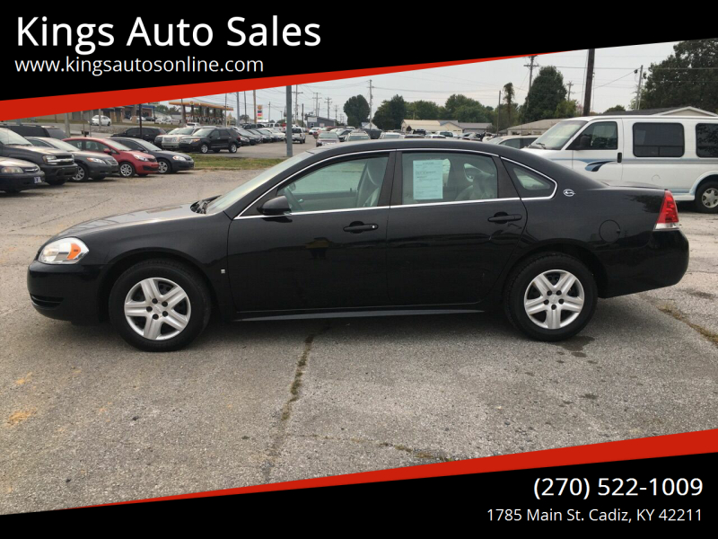 2009 Chevrolet Impala for sale at Kings Auto Sales in Cadiz KY