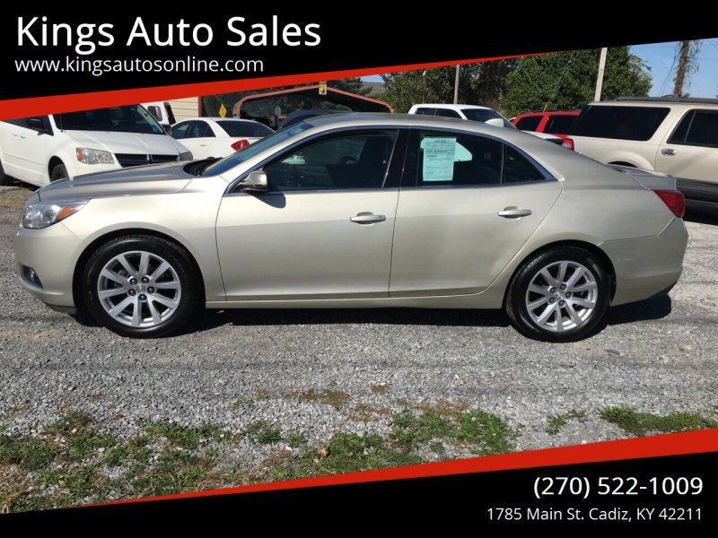 2013 Chevrolet Malibu for sale at Kings Auto Sales in Cadiz KY