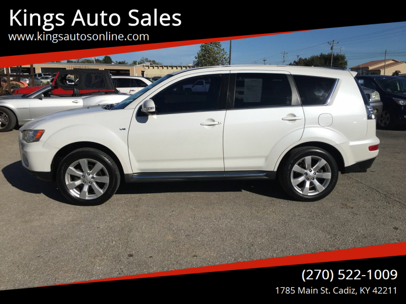 2011 Mitsubishi Outlander for sale at Kings Auto Sales in Cadiz KY