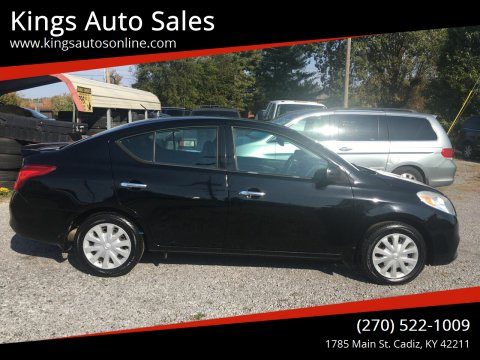 2014 Nissan Versa for sale at Kings Auto Sales in Cadiz KY