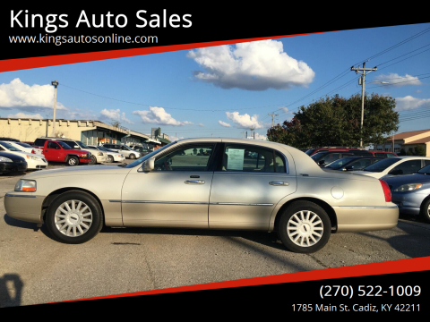 2005 Lincoln Town Car for sale at Kings Auto Sales in Cadiz KY