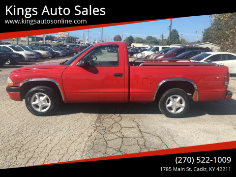 1997 Dodge Dakota for sale at Kings Auto Sales in Cadiz KY