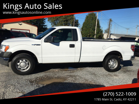 2013 Ford F-150 for sale at Kings Auto Sales in Cadiz KY