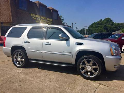 2012 Cadillac Escalade for sale at Steve's Auto Sales in Norfolk VA