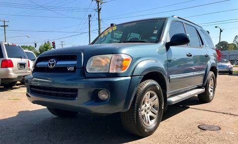 2005 Toyota Sequoia for sale at Steve's Auto Sales in Norfolk VA