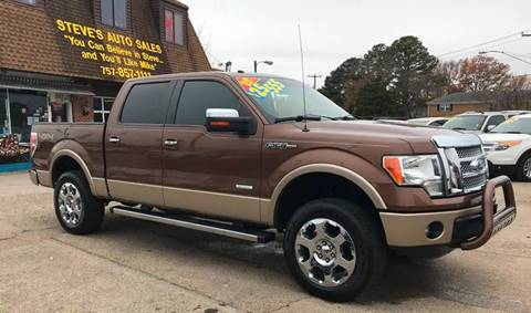 2012 Ford F-150 for sale at Steve's Auto Sales in Norfolk VA