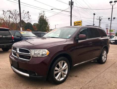 2012 Dodge Durango for sale at Steve's Auto Sales in Norfolk VA