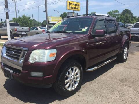 2007 Ford Explorer Sport Trac for sale at Steve's Auto Sales in Norfolk VA