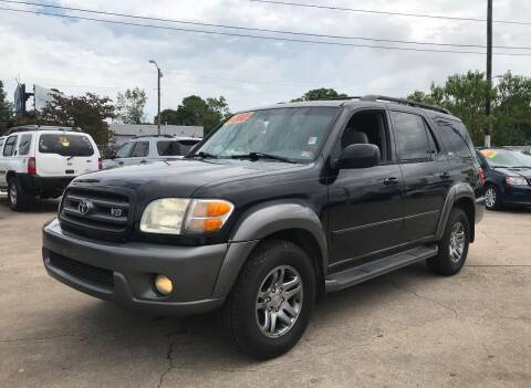 2004 Toyota Sequoia for sale at Steve's Auto Sales in Norfolk VA