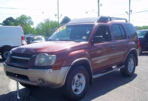 2002 Nissan Xterra for sale at Steve's Auto Sales in Norfolk VA