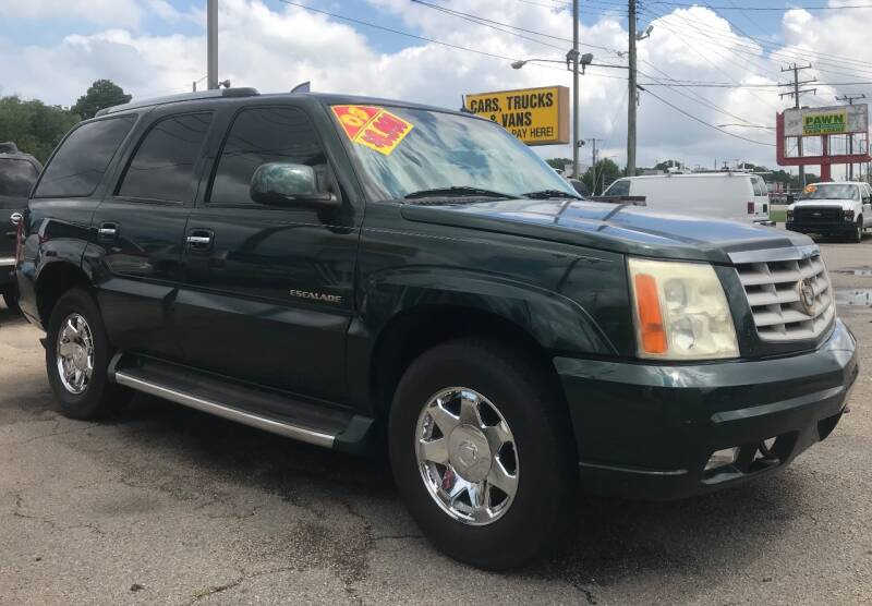 2003 Cadillac Escalade for sale at Steve's Auto Sales in Norfolk VA