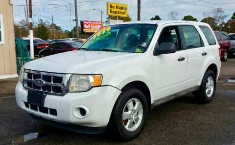 2009 Ford Escape for sale at Steve's Auto Sales in Norfolk VA
