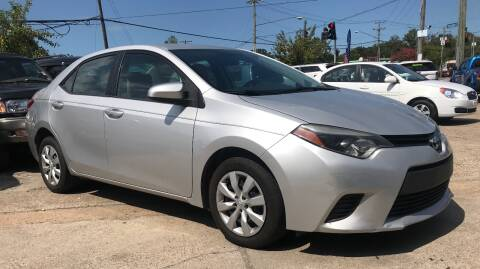2014 Toyota Corolla for sale at Steve's Auto Sales in Norfolk VA