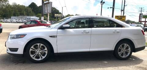 2015 Ford Taurus for sale at Steve's Auto Sales in Norfolk VA