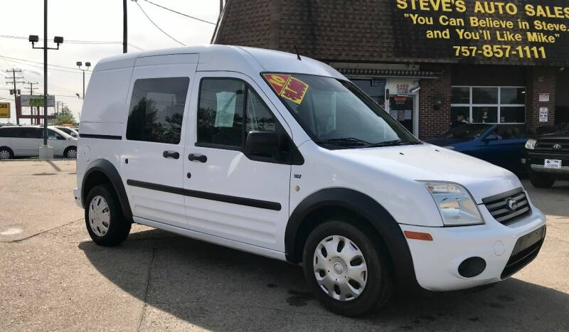 2013 Ford Transit Connect for sale at Steve's Auto Sales in Norfolk VA