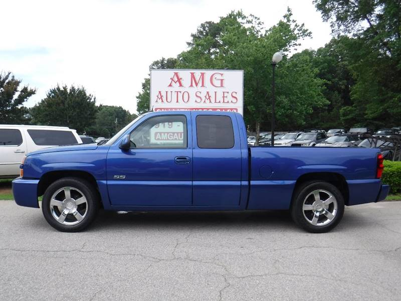 2004 Chevrolet Silverado 1500 Ss Awd 4dr Extended Cab Sb In Raleigh