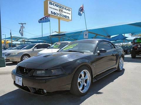 1999 Ford Mustang SVT Cobra for sale at Borrego Motors in El Paso TX