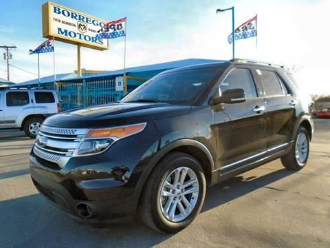 2015 Ford Explorer for sale at Borrego Motors in El Paso TX