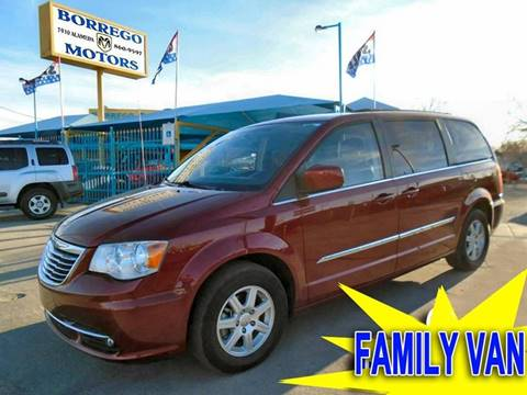 2012 Chrysler Town and Country for sale at Borrego Motors in El Paso TX