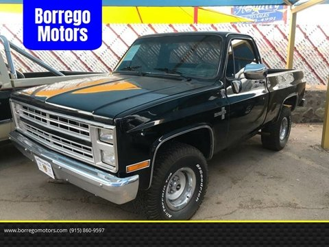 Chevrolet El Paso >> Used Chevrolet C K 10 Series For Sale In El Paso Tx