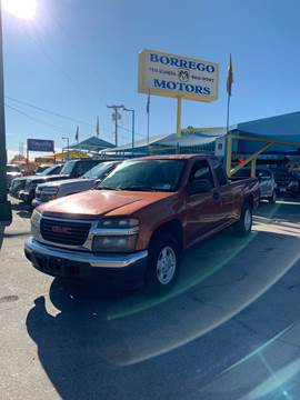 2004 GMC Canyon for sale in El Paso, TX