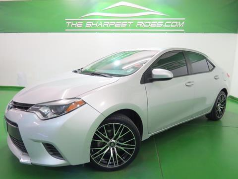 2015 Toyota Corolla for sale in Englewood, CO