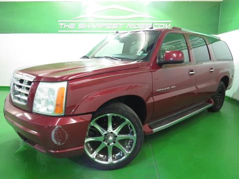 2005 Cadillac Escalade ESV for sale in Englewood, CO