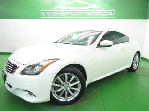 2012 Infiniti G37 Coupe for sale in Englewood, CO