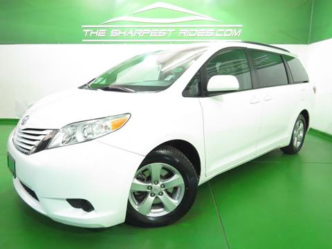2015 Toyota Sienna for sale in Englewood, CO