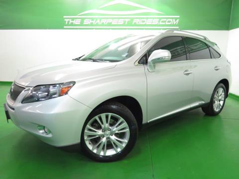 2010 Lexus RX 450h for sale in Englewood, CO