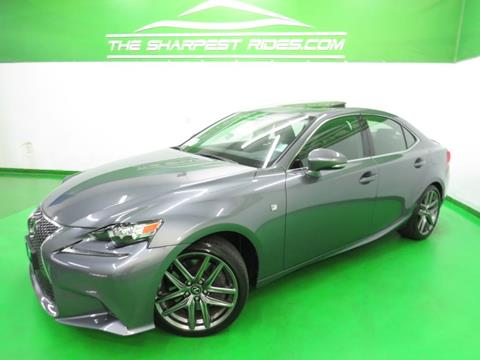 2016 Lexus IS 300 For Sale In Englewood, CO