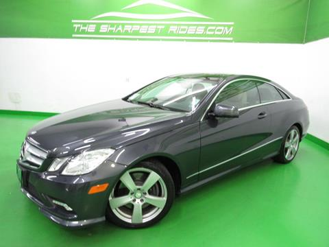 2011 Mercedes-Benz E-Class for sale in Englewood, CO