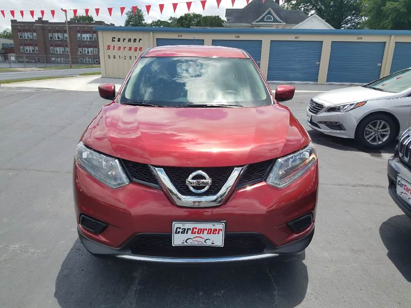 2016 Nissan Rogue AWD S 4dr Crossover - Mexico MO
