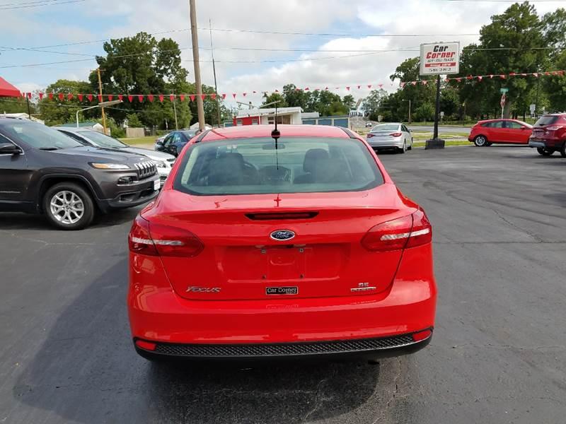 2016 Ford Focus SE 4dr Sedan - Mexico MO