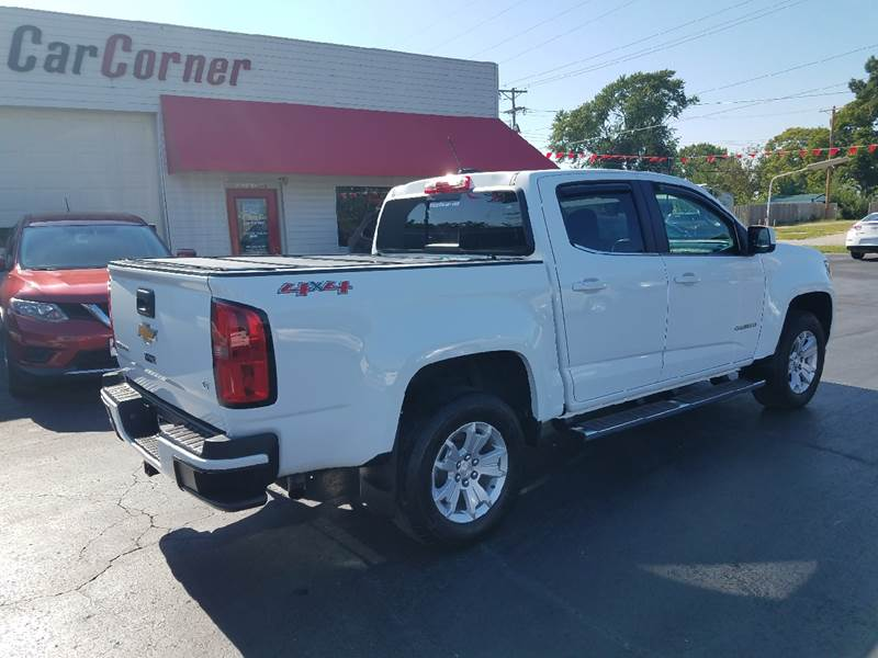 2016 Chevrolet Colorado 4x4 LT 4dr Crew Cab 5 ft. SB - Mexico MO
