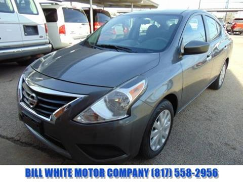 2017 Nissan Versa for sale in Cleburne, TX