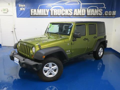 2007 Jeep Wrangler For Sale Carsforsale