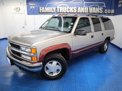 1999 Chevrolet Suburban For Sale In Denver Co