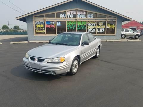 2001 Pontiac Grand Am for sale in Post Falls, ID