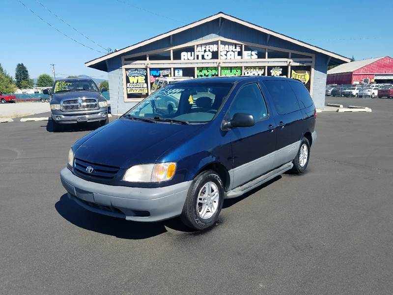 Toyota Sienna CE Dr MiniVan In Post Falls ID Affordable - 2001 sienna