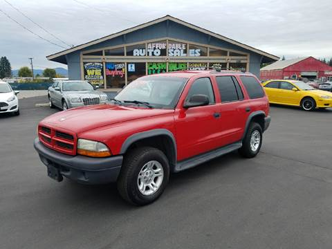 2003 Dodge Durango for sale in Post Falls, ID