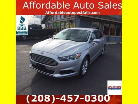 2013 Ford Fusion for sale in Post Falls, ID