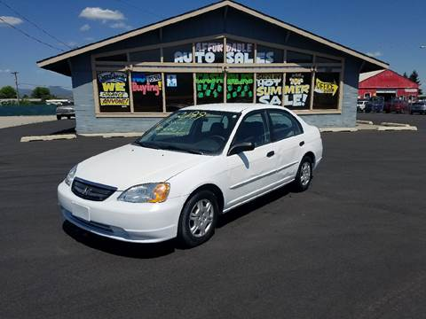 2001 Honda Civic for sale in Post Falls, ID