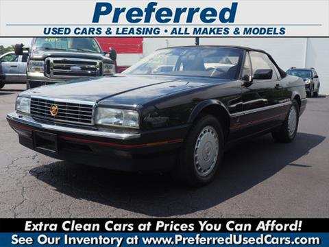 1991 Cadillac Allante for sale in Fairfield, OH