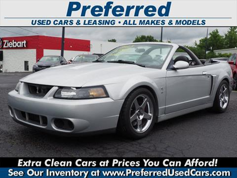2003 Ford Mustang SVT Cobra for sale in Fairfield, OH