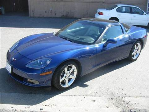 2006 Chevrolet Corvette for sale at Sutherlands Auto Center in Rohnert Park CA