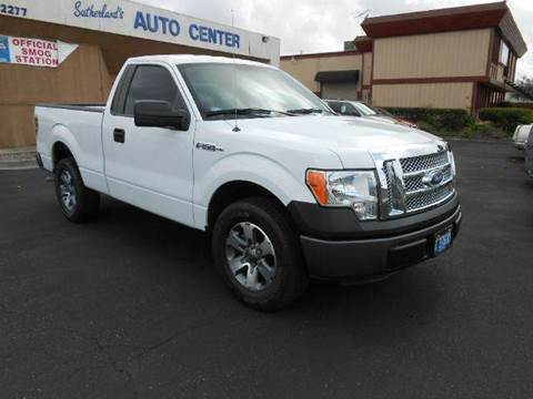 2013 Ford F-150 for sale at Sutherlands Auto Center in Rohnert Park CA
